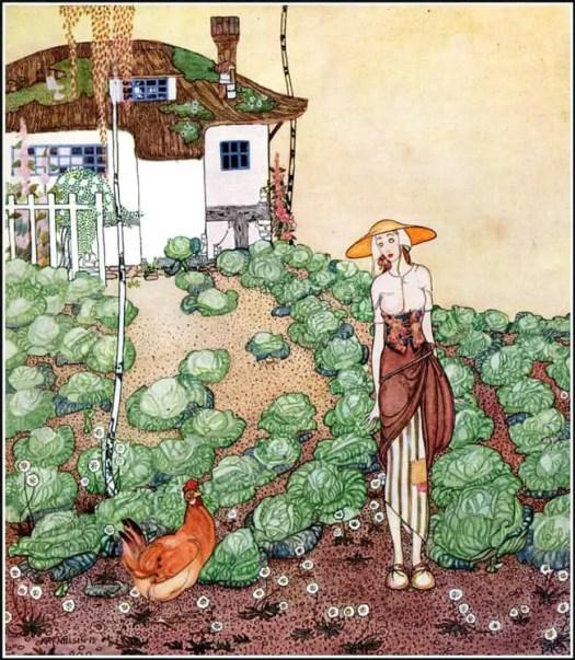 Powder and Crinoline, 1912 Kay Nielson
