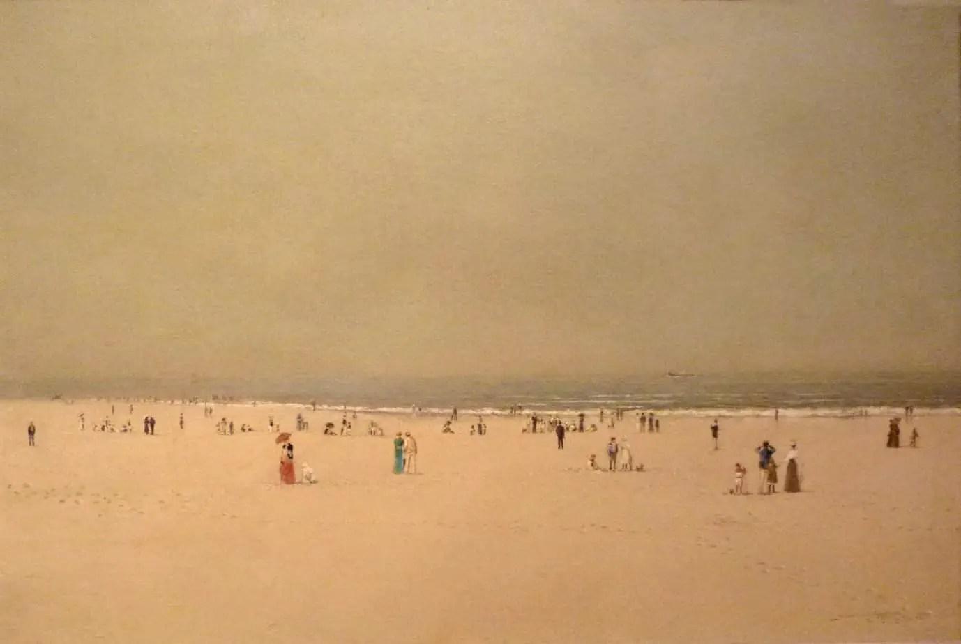 Atkinson Grimshaw - Scarborough Beach