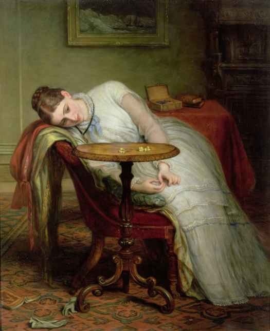 Charles West Cope - Hope Deferred, and Hopes and Fears that Kindle Hope