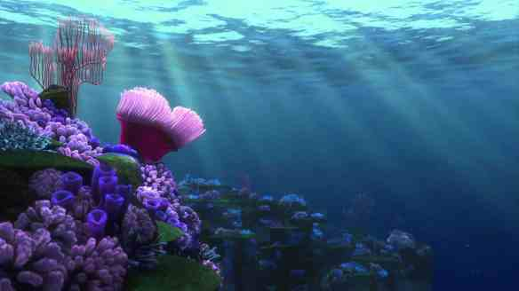 Finding Nemo underwater