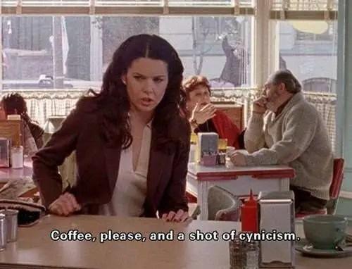 GILMORE GIRLS CAFE