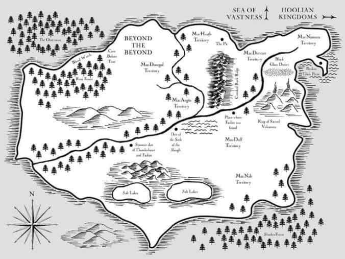 Wolves Of The Beyond Map