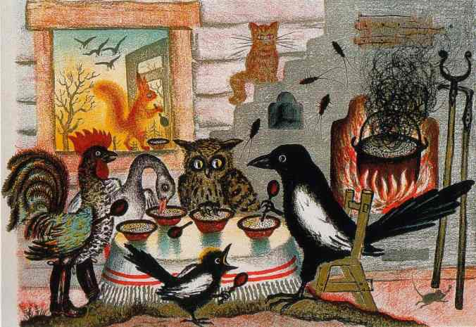 Yuri Vasnetsov, The Magpie, 1938