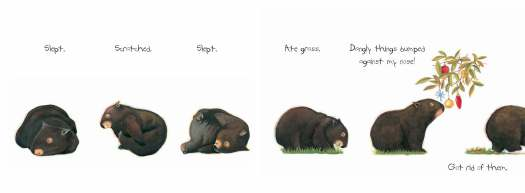 Diary of a Wombat battle with bush