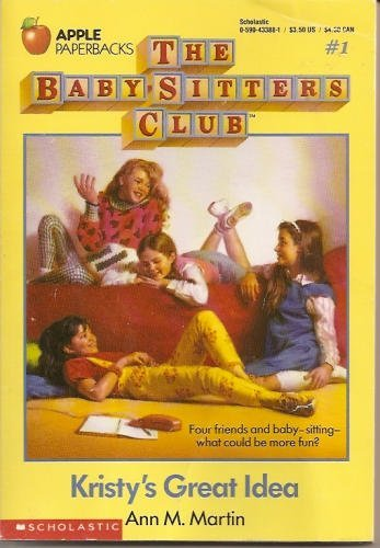 Kristy's Great Idea cover babysitter's club