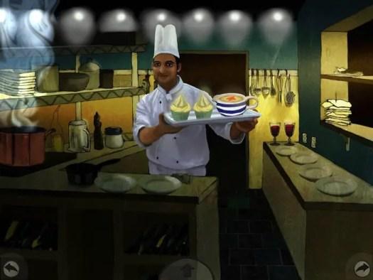 magical restaurant kitchen