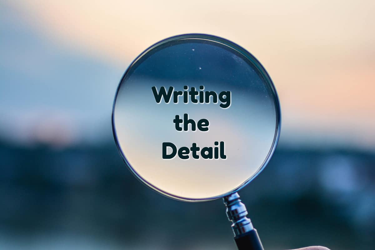 writing the detail