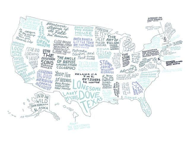 The Book That Represents Each American State