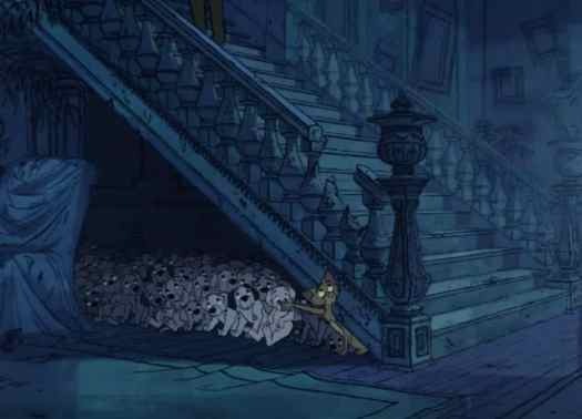 101 Dalmatians staircase