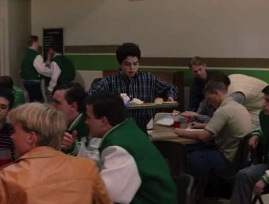 Freaks and geeks sam cafeteria