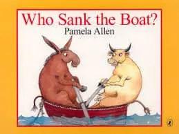 Who Sank The Boat Pamela Allen cover