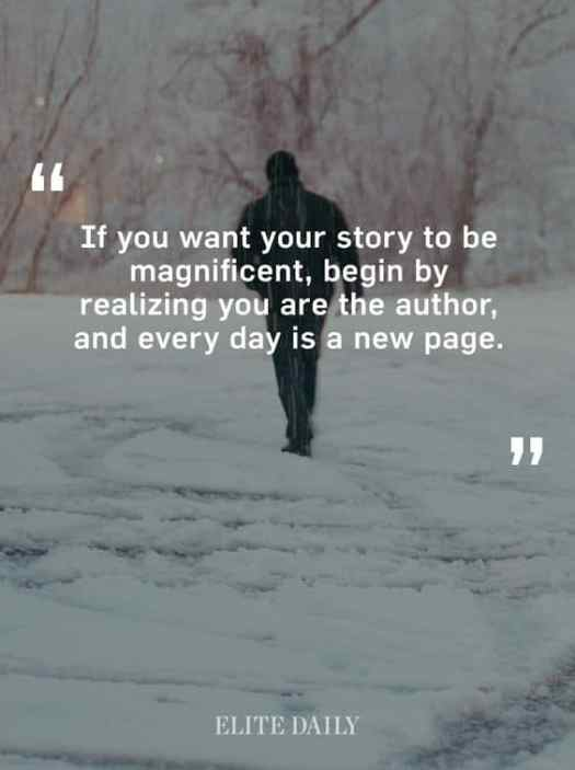 if you want your story