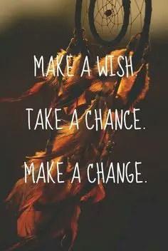 make a wish take a chance