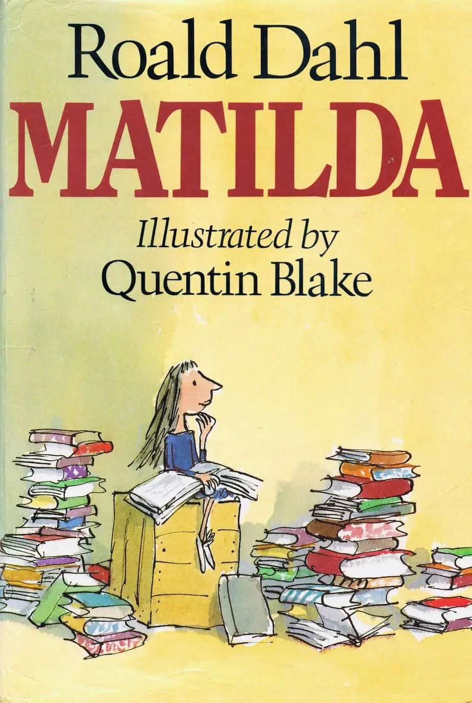 Matilda by roald dahl novel study slap happy larry fandeluxe Choice Image