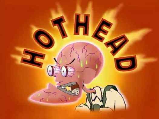 hot head courage the cowardly dog