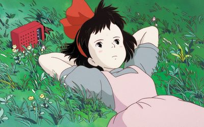 Opening scene from Kiki's Delivery Service