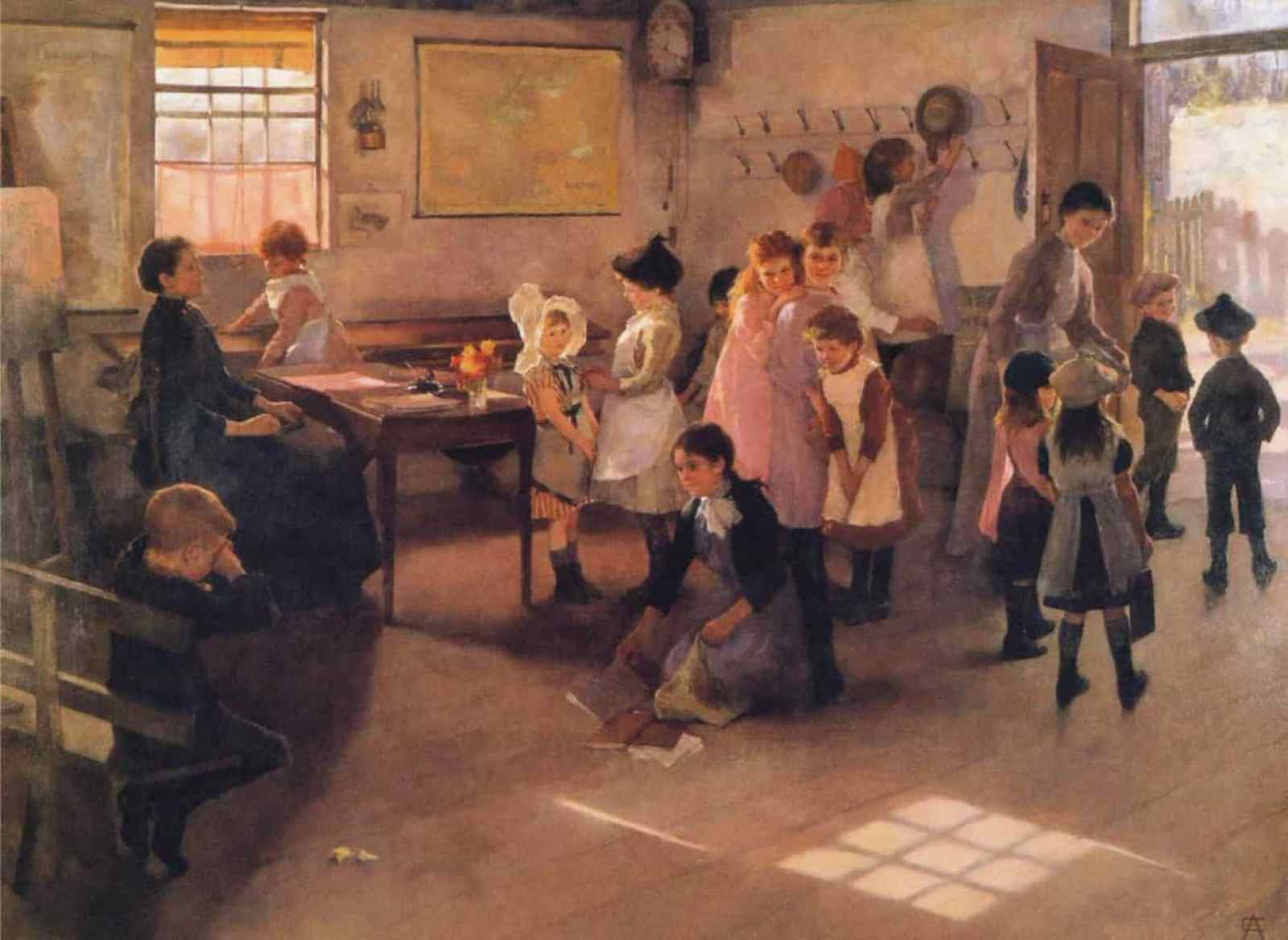 Elizabeth Armstrong Forbes - School is Out