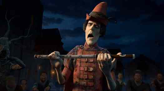 the Pied Piper from Shrek