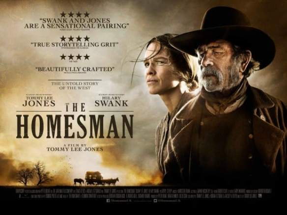The Homesman movie poster landscape