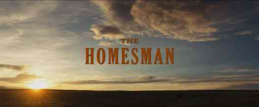 The Homesman opening vista sunrise