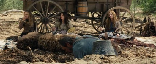 The Homesman three mentally ill women