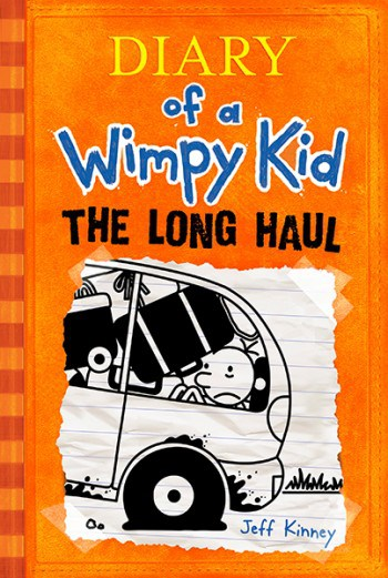The Long Haul Jeff Kinney cover