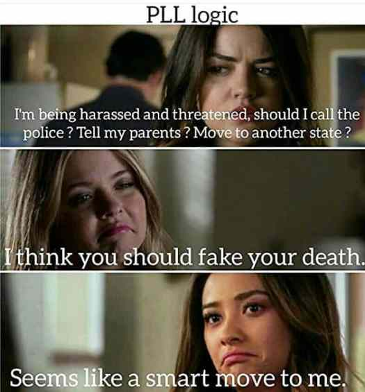 melodrama from pretty little liars