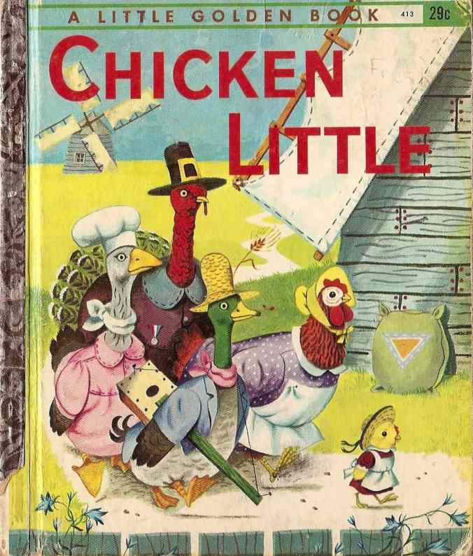 chicken little little golden book