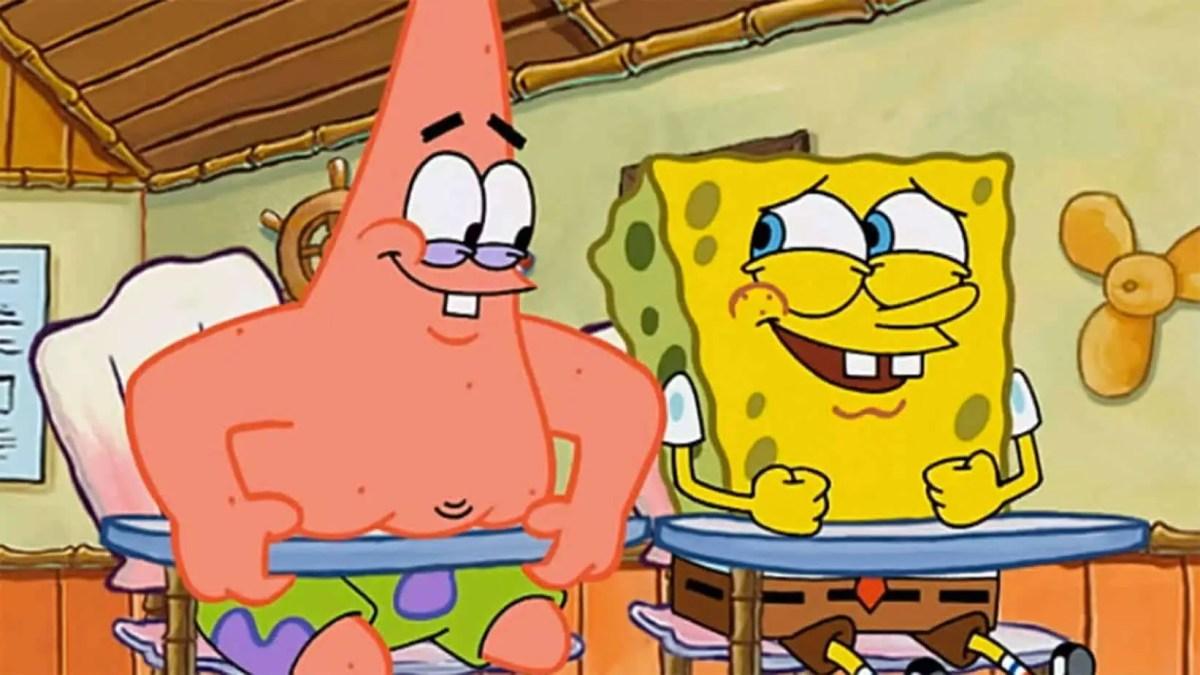 Humour Writing And Spongebob Squarepants Slap Happy Larry