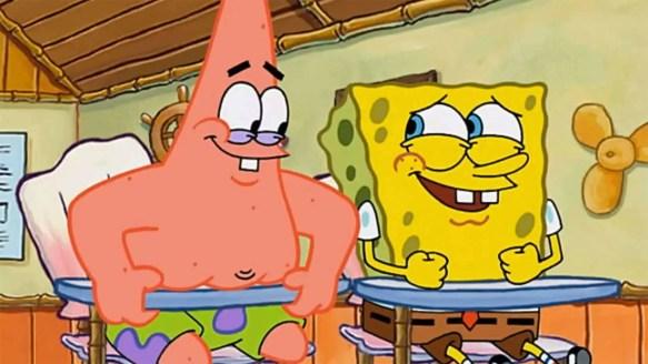 4fa11d43f Humour Writing And Spongebob Squarepants - Slap Happy Larry