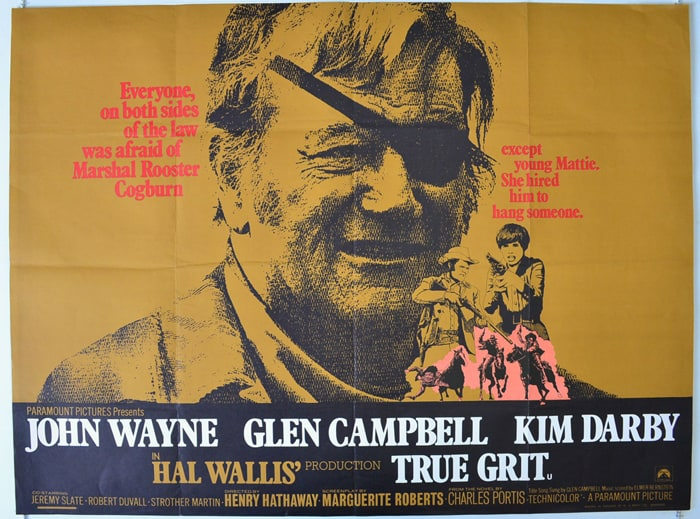 True Grit movie poster 1969