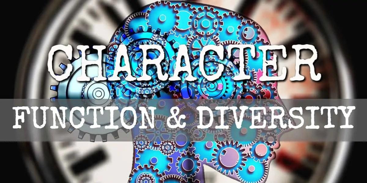 main character function diversity