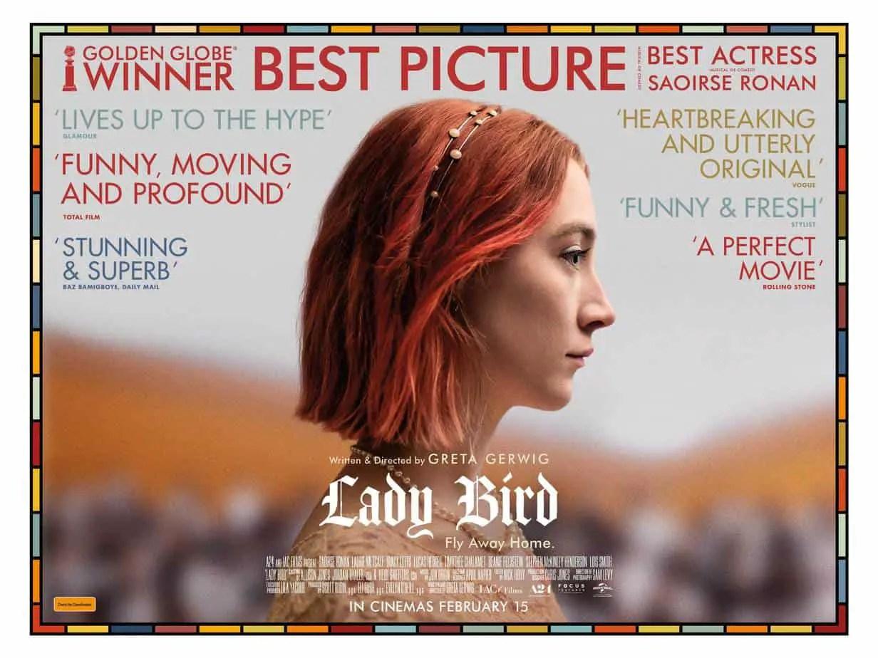 Lady Bird film poster