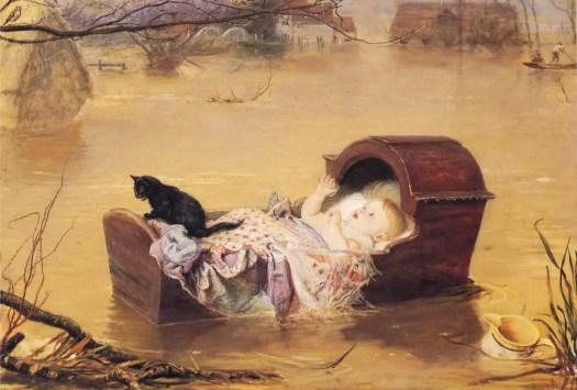 John Everett Millais - A Flood