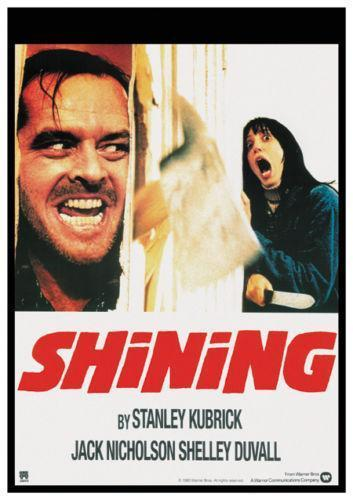 the shining movie poster slap happy larry