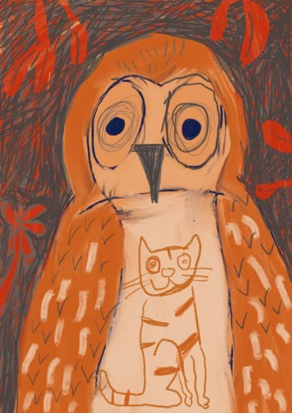 Chris McKimmie owl