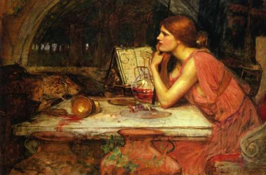 John William Waterhouse - Sorceress