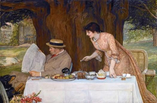 Robert Walker MacBeth - Our First Tiff 1878