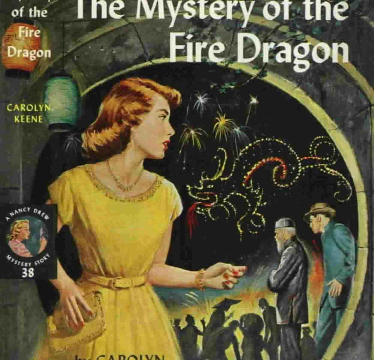 The Mystery of the Fire Dragon detective story