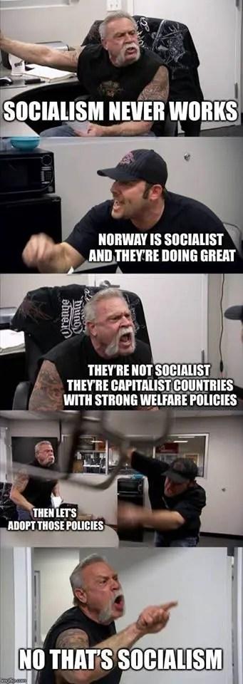 socialism never works