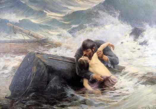 Alfred Guillou - Farewell 1892