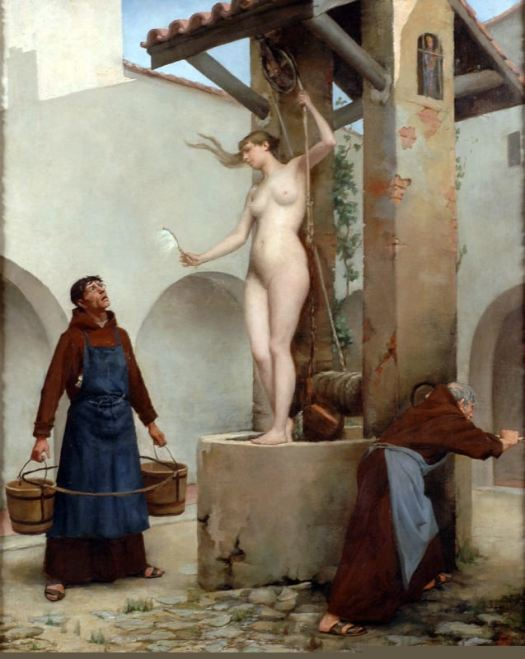 Charles West Cope - Spirit of the Well