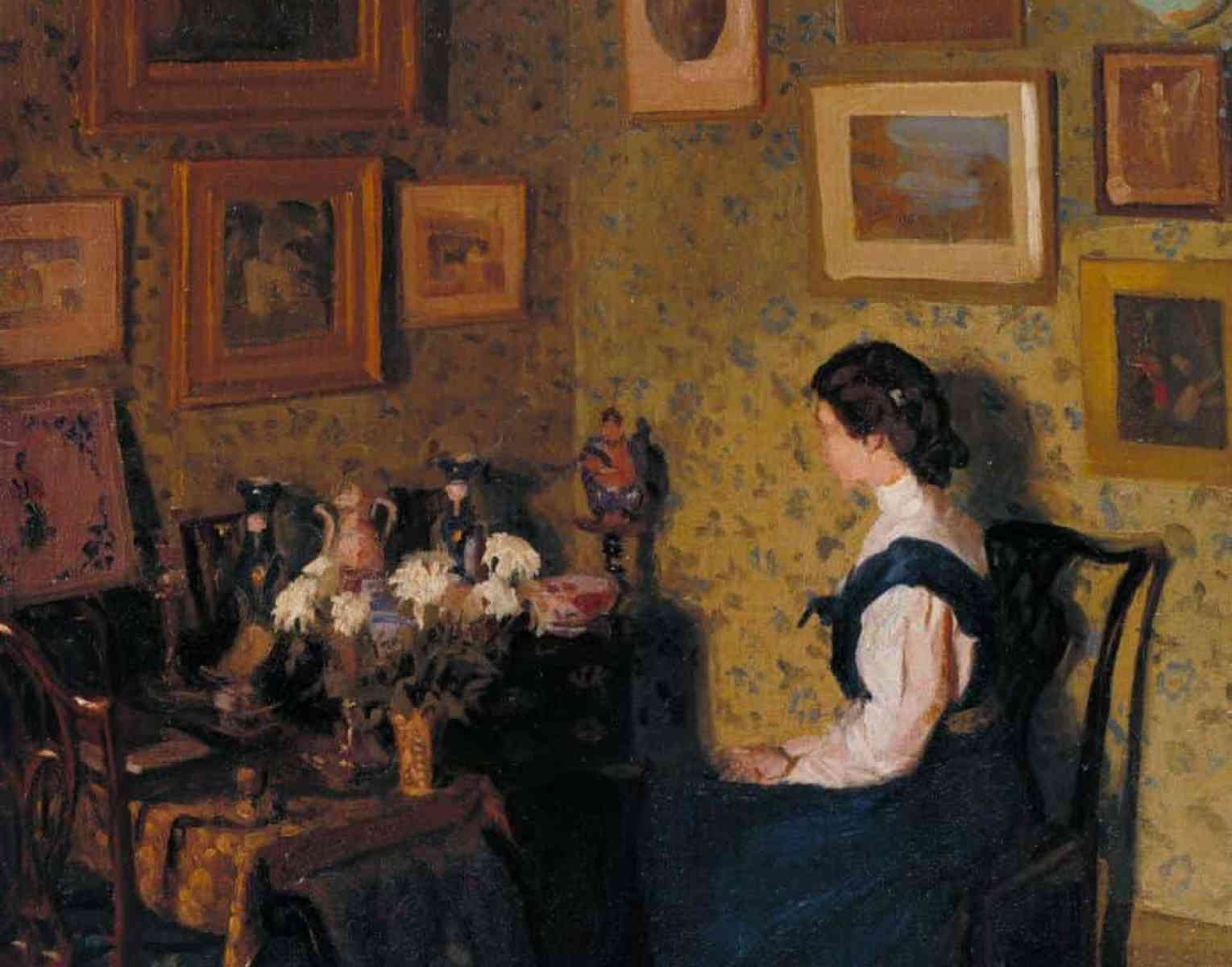 Edwardian Interior c.1907 by Harold Gilman 1876-1919
