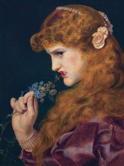 Frederick Sandys - Love's Shadow (Proud Maisie) 1867