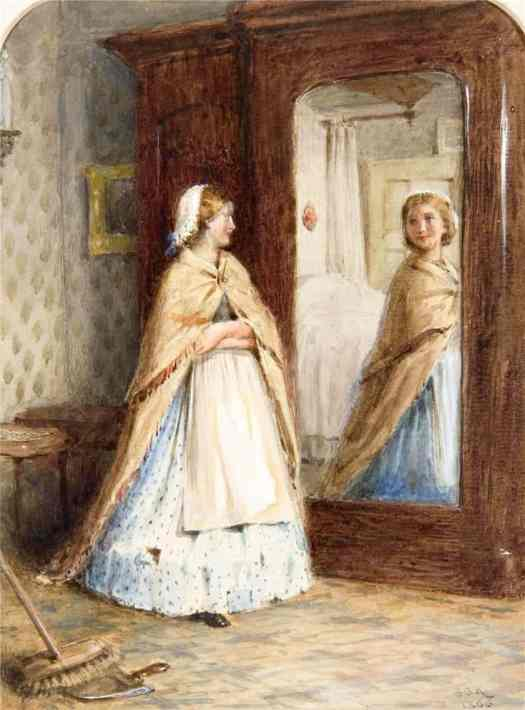 George Goodwin Kilburne - Borrowed Plumes