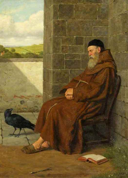 Henry Stacey Marks - The Convent Raven 1870