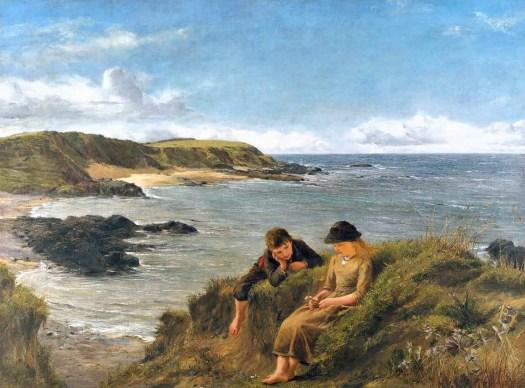 Young Dreams 1887 James Clarke Hook 1819-1907