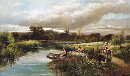 John Clayton Adams - The reed cutter's family