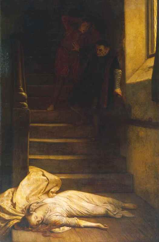 Amy Robsart exhibited 1877 William Frederick Yeames 1835-1918