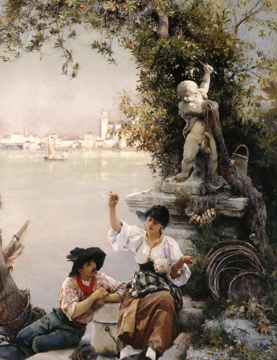 Cupid's Spell 1885 Henry Woods